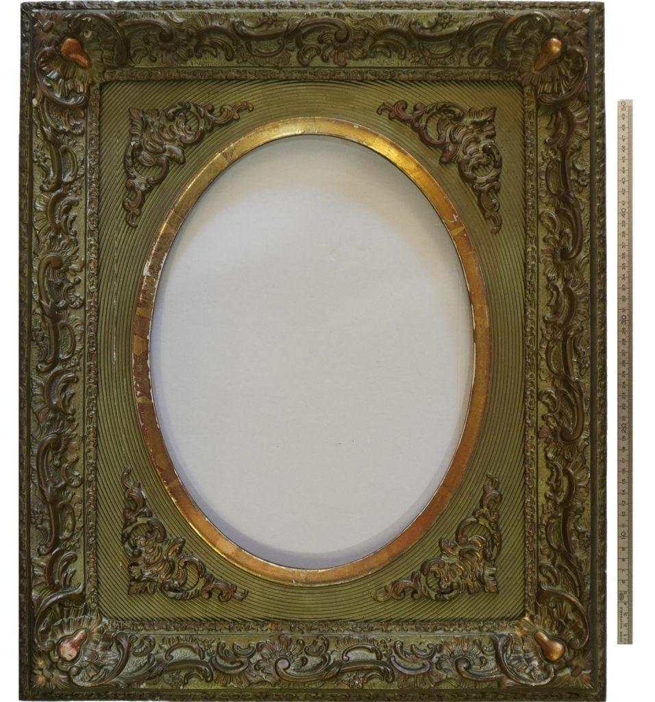 Cadre de l'image - ovale