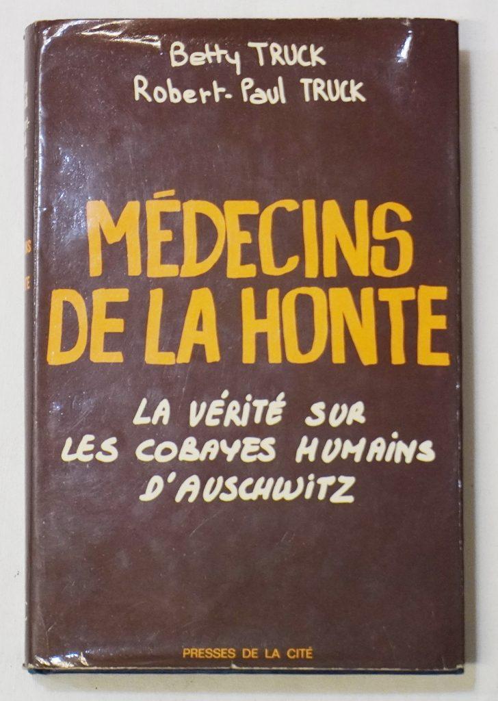 """Livre """"Médecins de la honte"""""""